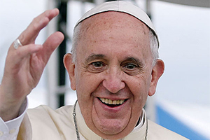Pope-Francis Climate leader blogpost Pope Francis photo